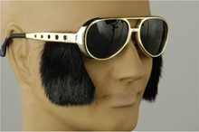 Picture of Elvis Rocker Glasses with Sideburns