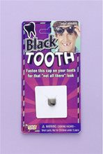 Picture of Black Tooth Cap