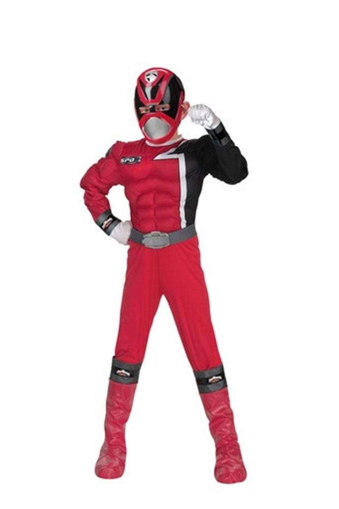 Picture of Power Rangers Red Muscle Child Costume
