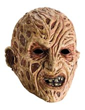 Picture of Freddy Krueger Adult 3/4 Vinyl Mask