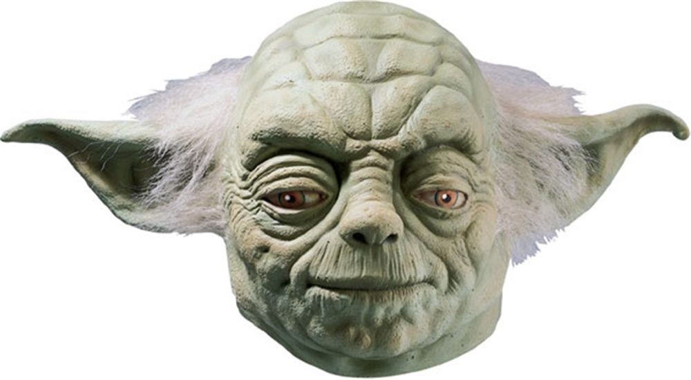 Picture of Star Wars Yoda Deluxe Latex Adult Mask