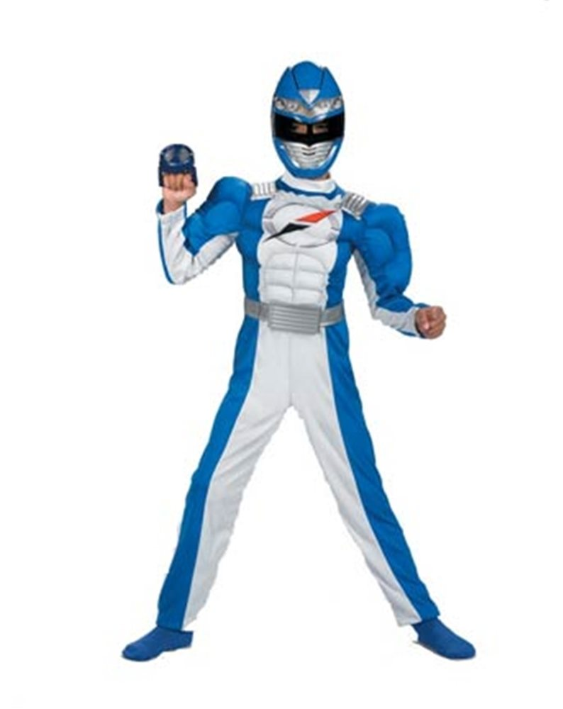 Picture of Power Rangers Overdrive Blue Child Costume