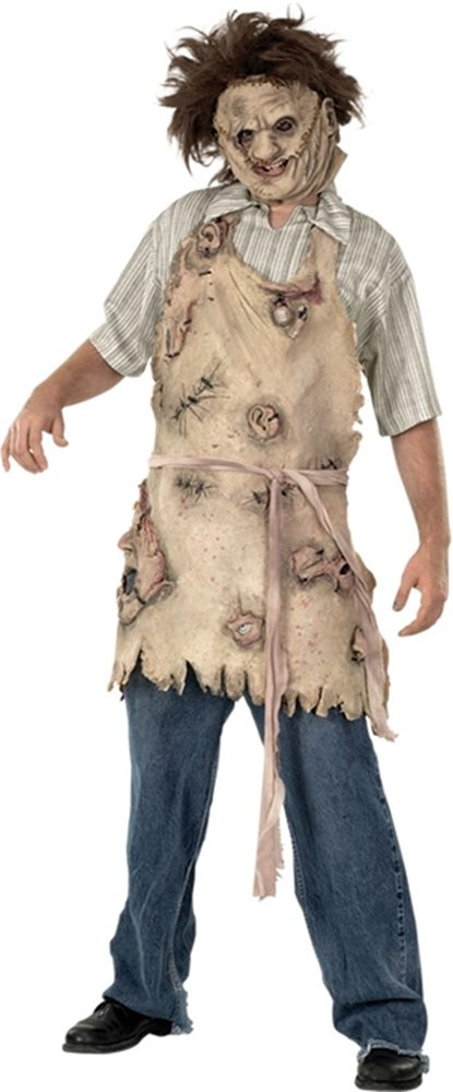 Picture of Texas Chainsaw Massacre Leatherface Deluxe Adult Apron of Souls