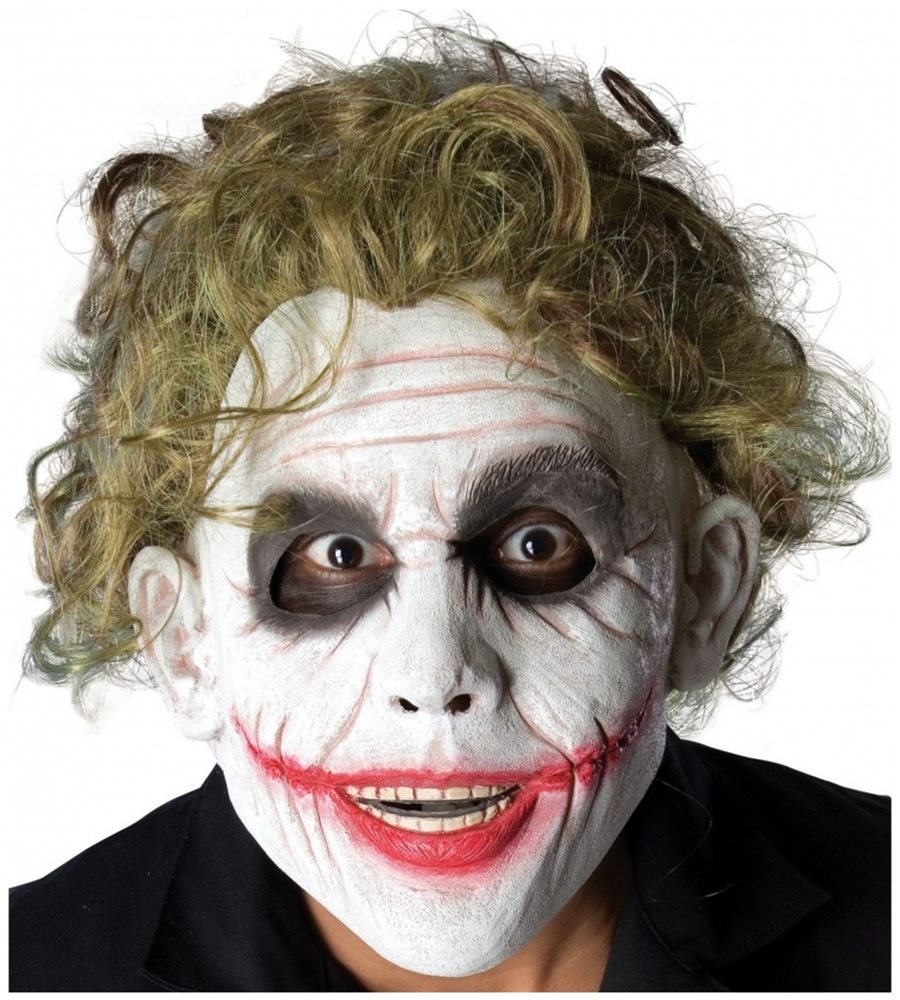Picture of The Joker Deluxe Foam Latex Adult Mask