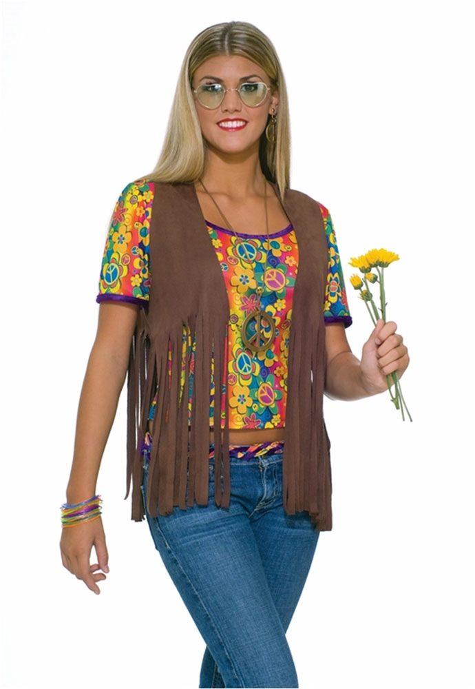Picture of Sexy Hippie Vest Costume