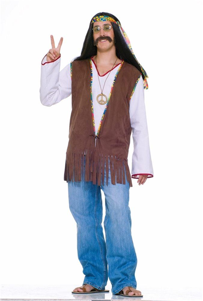 Picture of Hippie Adult Mens Vest