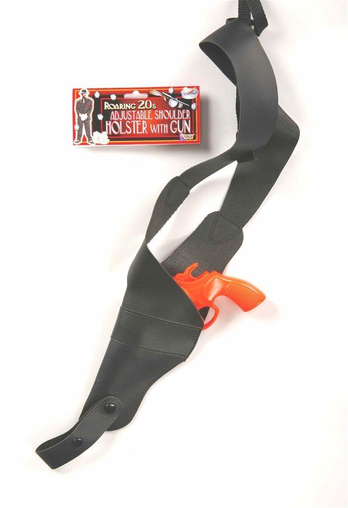 Picture of Orange Gun with Adjustable Shoulder Holster
