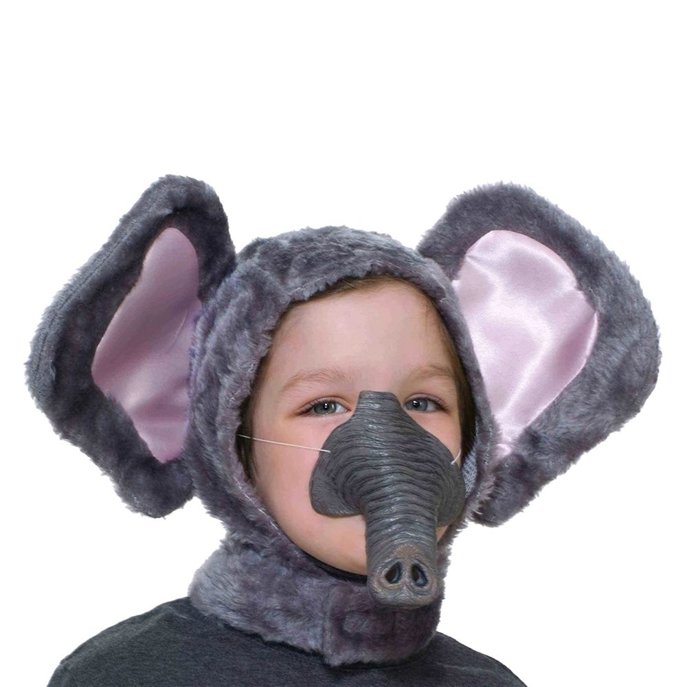 Picture of Elephant Hood & Nose Child Set