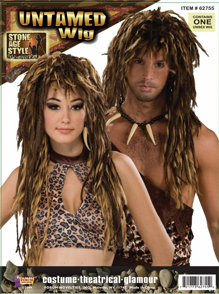 Picture of Stone Age Unisex Wig