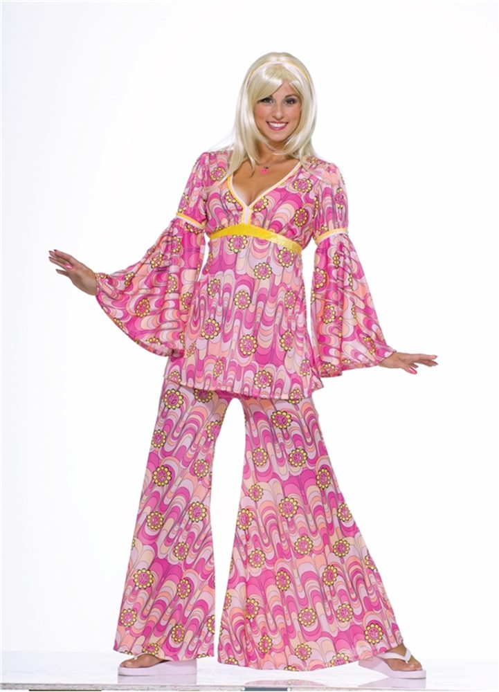 Picture of Flower Power Hippie Adult Womens Costume