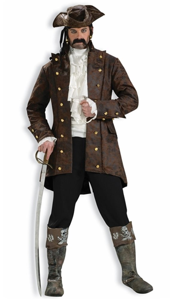 Picture of Pirate Buccaneer Adult Mens Jacket