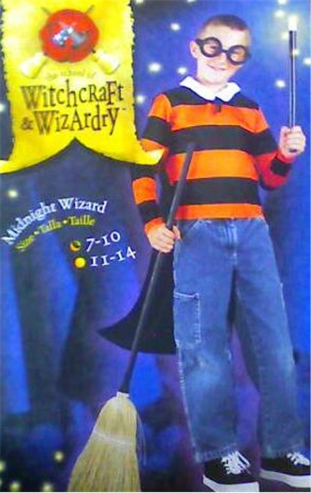 Picture of Midnight Wizard Set Child Costume