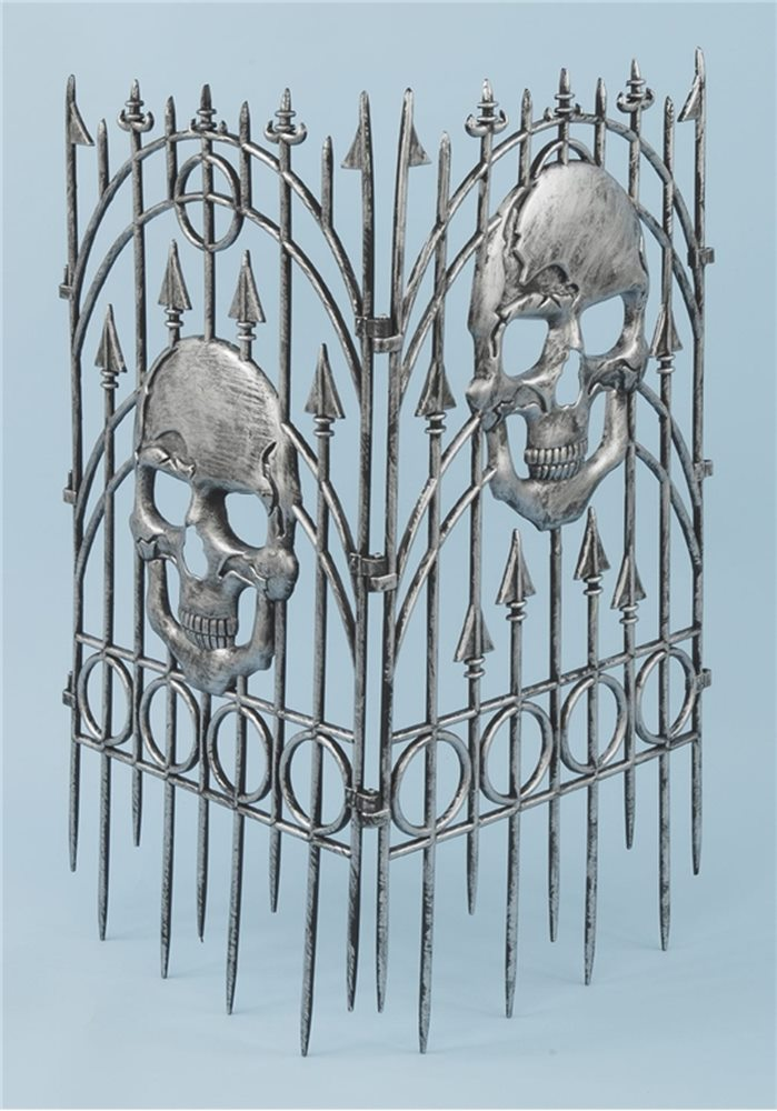Picture of Silver Skull Fence