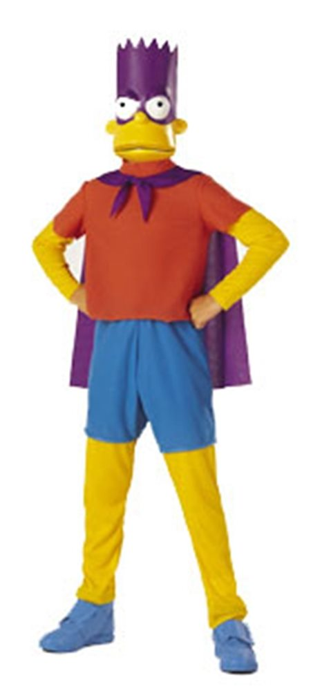 Picture of The Simpsons Bartman Child Costume