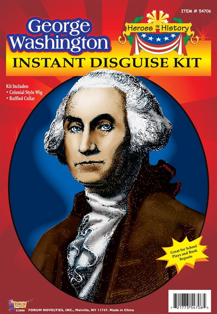 Picture of George Washington Instant Disguise Kit