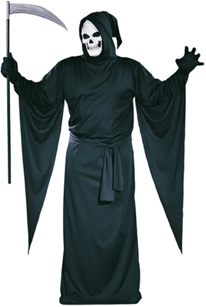 Picture of Grim Reaper Plus Size Adult Mens Costume