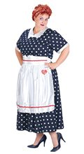 Picture of Lucy Polka Dot Dress Adult Womens Plus Size Costume