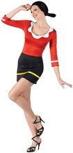Picture of Popeye Sexy Olive Oyl Adult Womens Costume