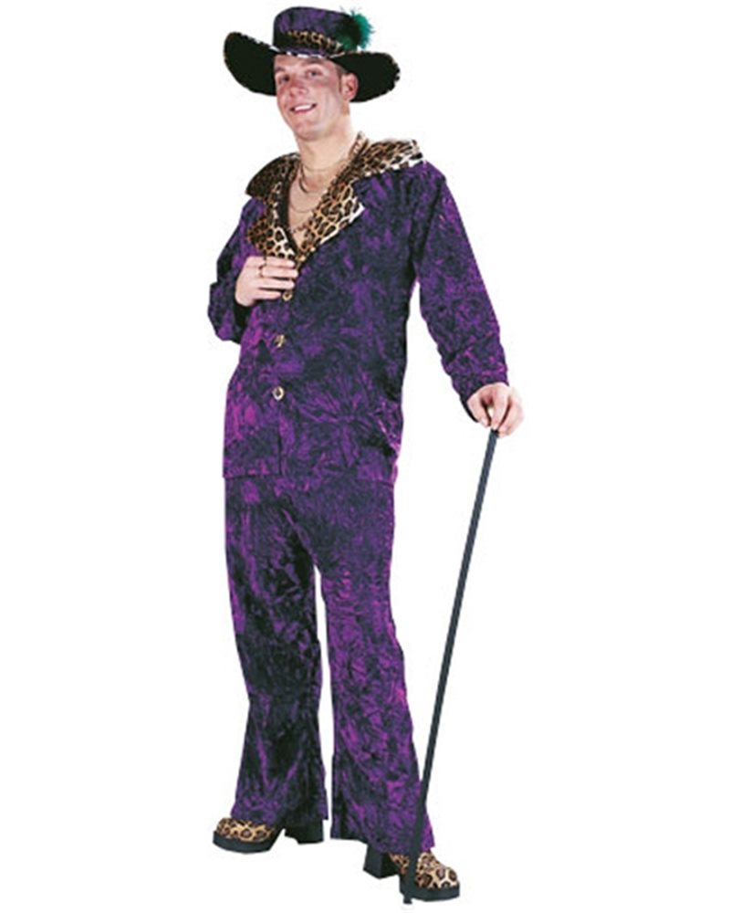 Picture of Big Daddy Pimp Adult Costume