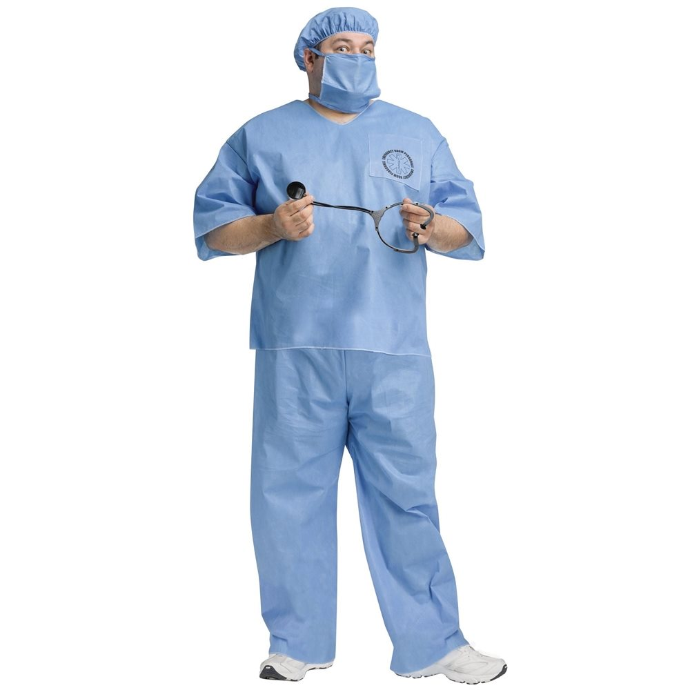 Picture of Doctor Doctor! Adult Mens Plus Size Costume
