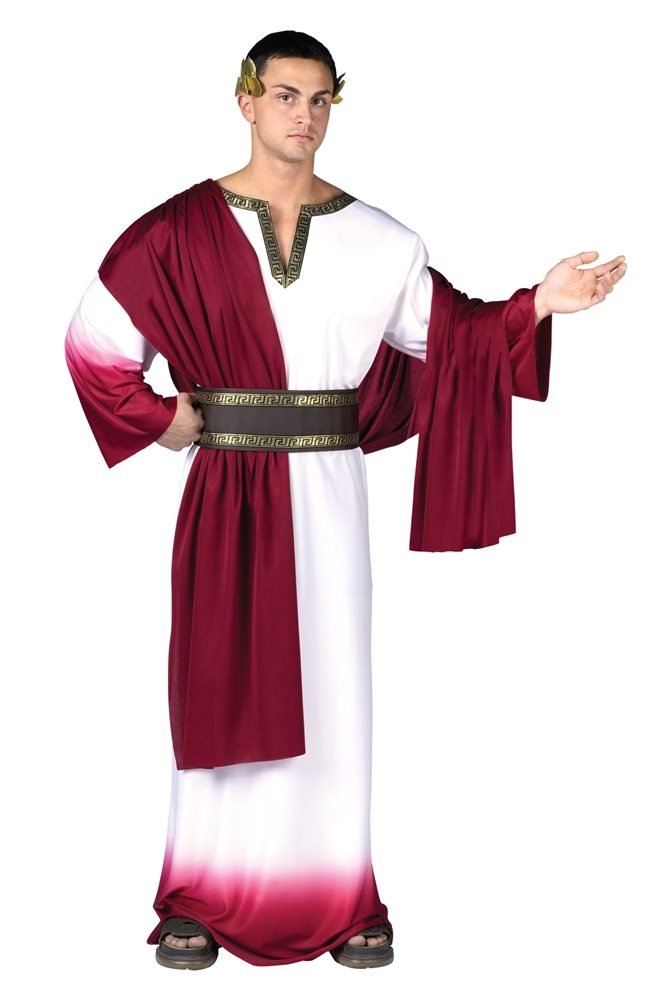 Picture of Deluxe Caesar Adult Mens Costume