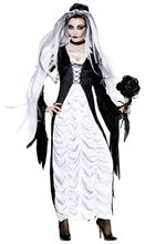 Picture of Bride Of Darkness Adult Womens Costume