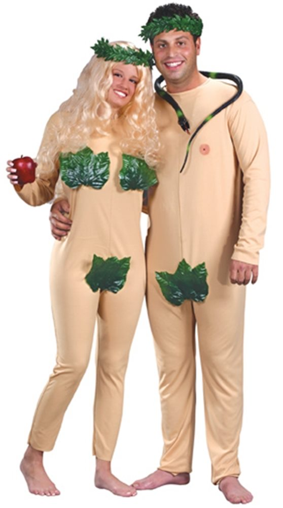 Picture of Adam and Eve Adult Costume Set