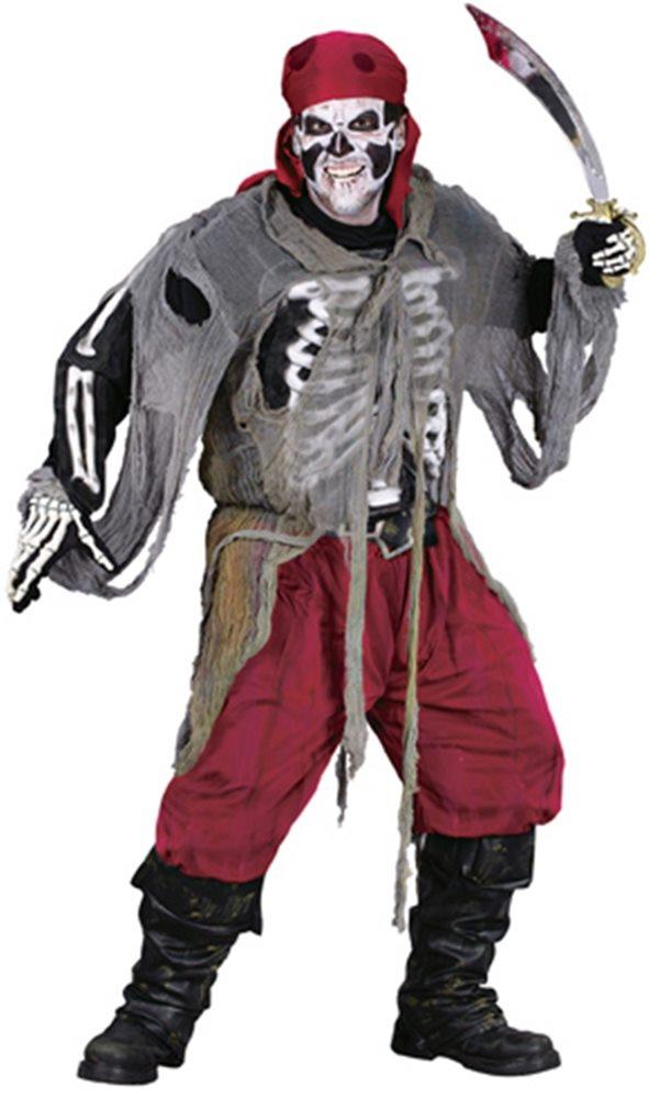 Picture of Buccaneer Bones Adult Costume