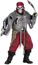 Picture of Buccaneer Bones Adult Costume