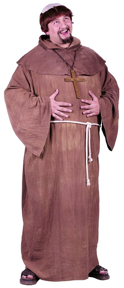 Picture of Medieval Monk Plus Size Adult Mens Costume