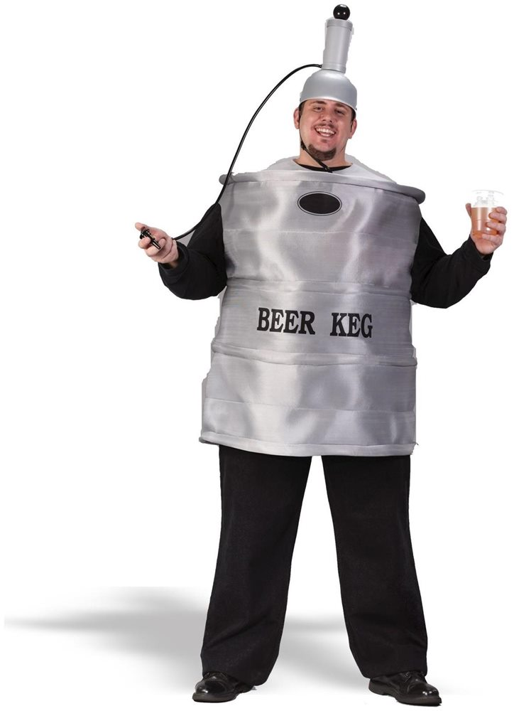 Picture of Beer Keg Plus Size Adult Mens Costume