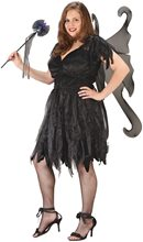 Picture of Midnight Fairy Plus Size Costume