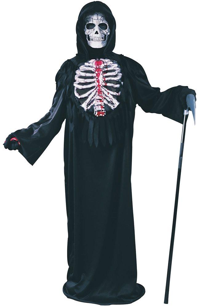 Picture of Bleeding Skeleton Chest Child Costume