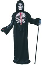 Picture of Bleeding Skeleton Chest Child Costume