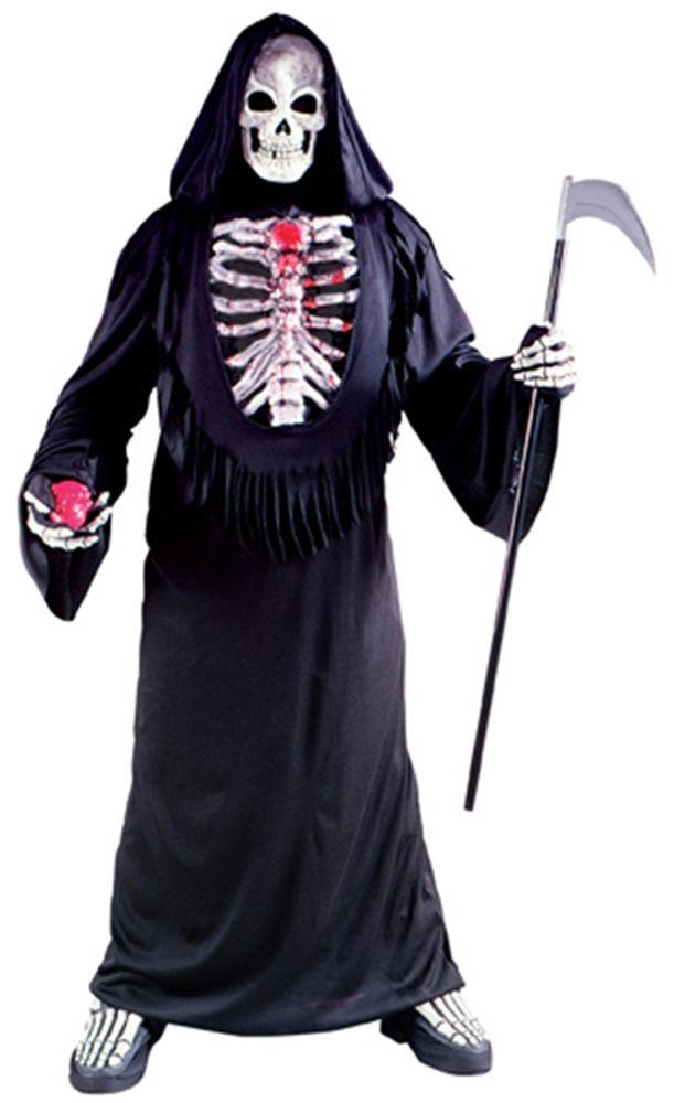 Picture of Bleeding Skeleton Chest Plus Size Adult Mens Costume