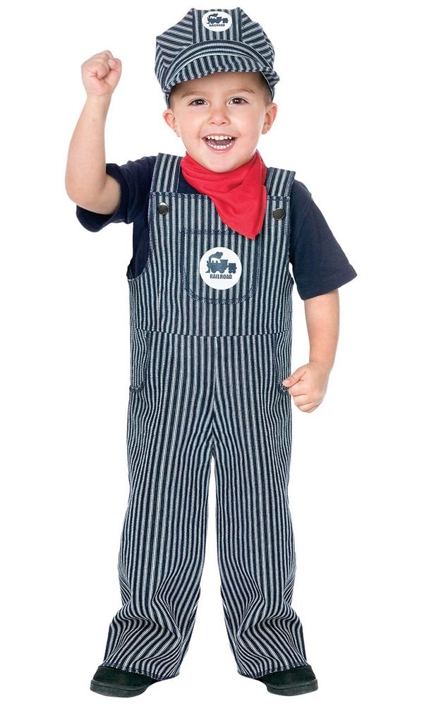 Picture of Train Engineer Toddler Costume