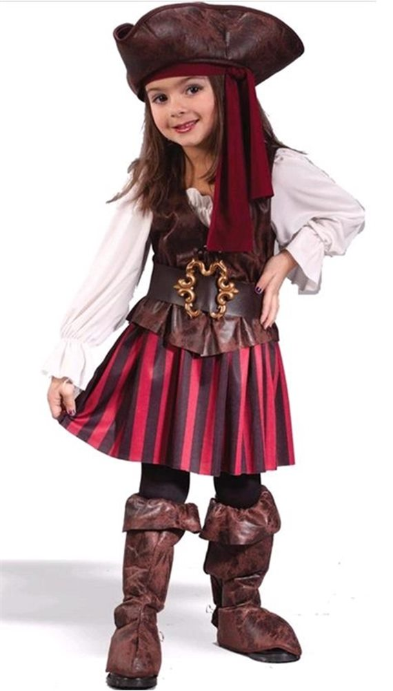 Picture of High Seas Buccaneer Pirate Toddler Costume