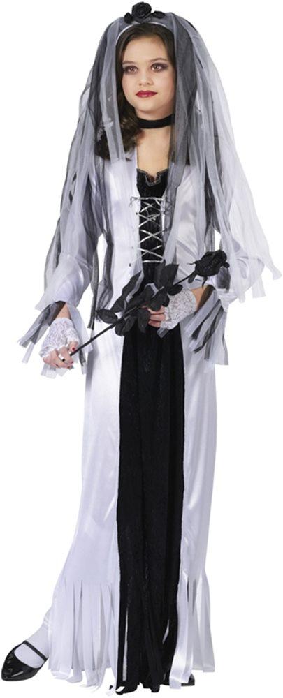 Picture of Skeleton Bride Child Costume