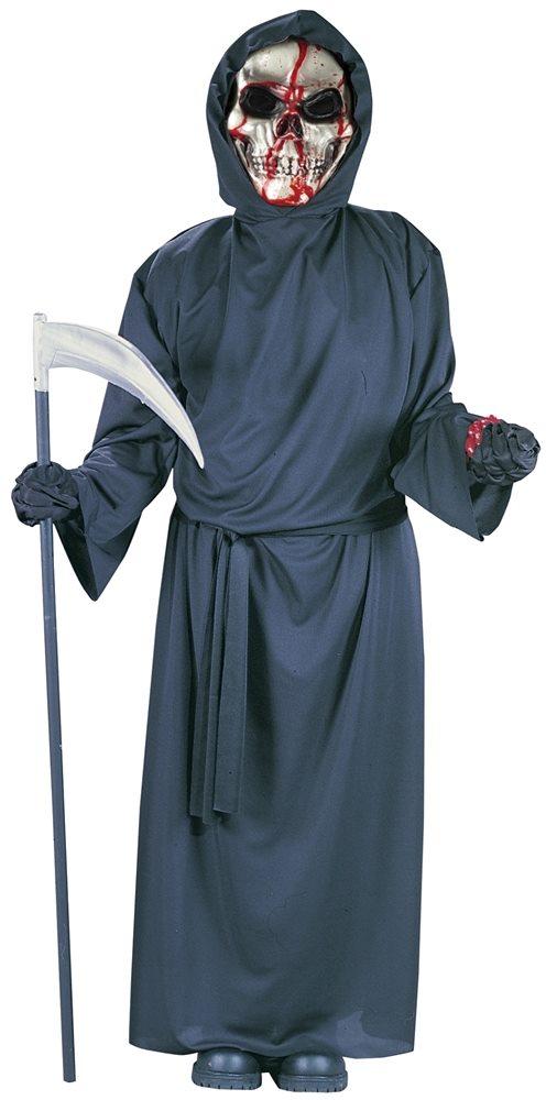 Picture of Bleeding Skull Grim Reaper Child Costume
