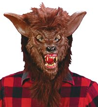 Picture of Brown Werewolf Adult Mask