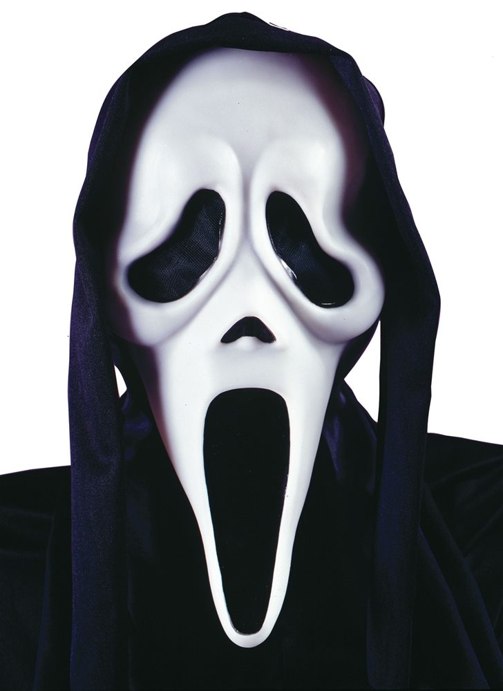 Picture of Scary Movie Ghost Face Mask