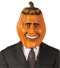 Picture of Pumpkin Head Obama Mask