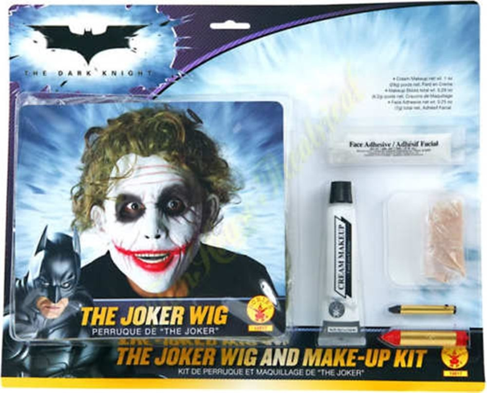 Picture of Deluxe The Joker Makeup Kit