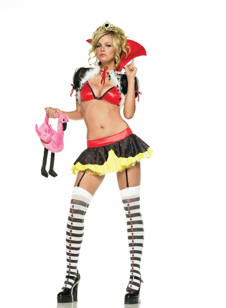 Picture of Queen of Hearts 5pc Costume