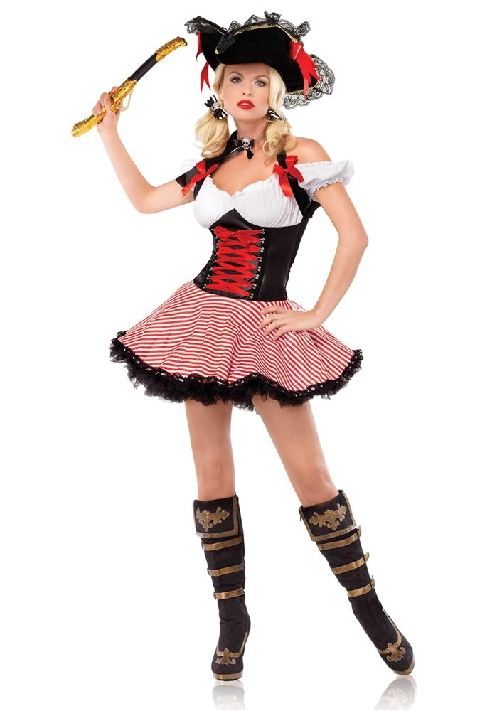 Picture of Pirate Wench Adult Womens Costume