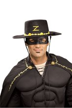 Picture of Zorro Adult Hat and Eye Mask