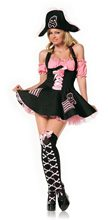 Picture of Treasure Hunt Pirate Adult Womens Costume