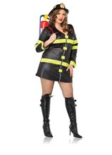 Picture of Fire Woman Plus Size Costume