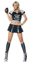 Picture of Sexy Star Football Adult Womens Costume