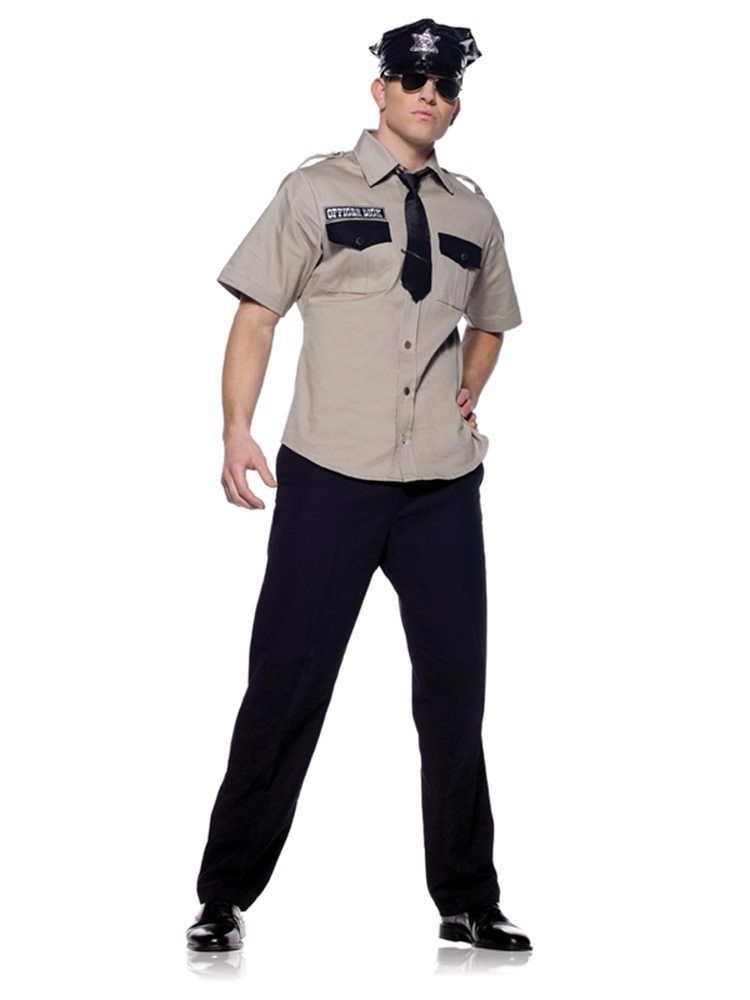 Picture of Arresting Officer 3pc Adult Costume
